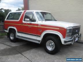 Ford Sale Ford Bronco For Sale In Australia