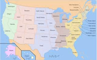 map of us geography american states memory forum mnemotechnics