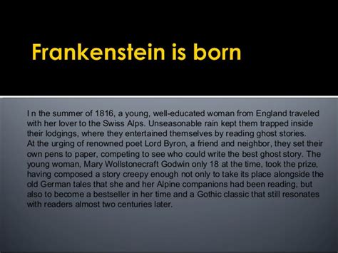 themes of frankenstein with exles loss and isolation themes of quot frankenstein