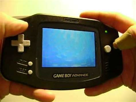 gameboy advance display mod original gameboy advance with sp 101 backlit screen
