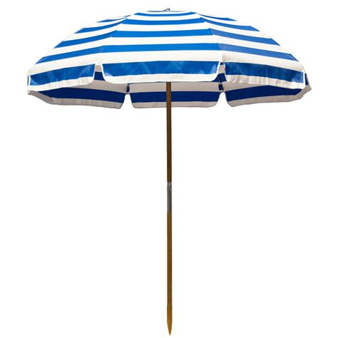 6.5 ft. Frankford Shade Star Beach Umbrella   With Vent