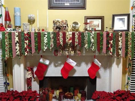 pattern for christmas mantel scarf christmas mantel scarves yahoo image search results