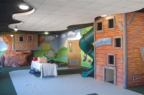House Plans With Basements Environmental Indoor Playground Decors Designed With Brick
