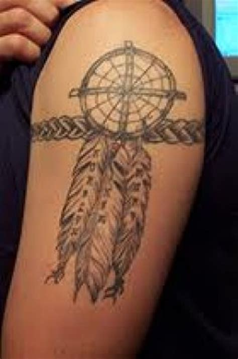 dreamcatcher tattoos for men 55 amazing catcher shoulder tattoos