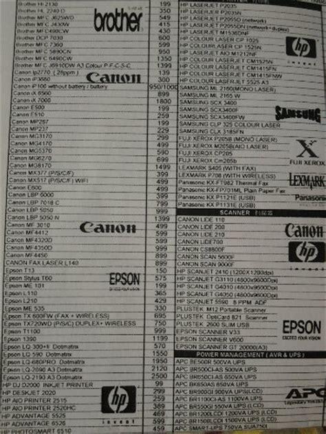 Printer All In One Murah harga beli printer scanner all in one fax machine murah cheap price malaysia sz my shop zone