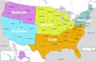 south us region map eduplace southeast region thinglink