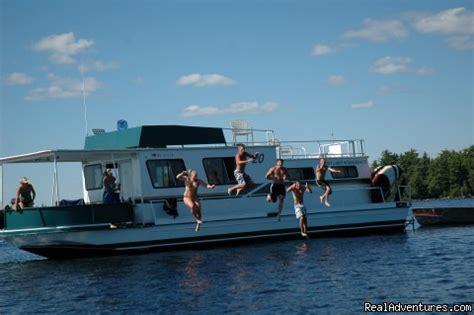 boat rental fall lake mn rainy lake houseboats premier houseboat rentals