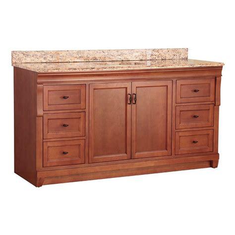 49x22 Bathroom Vanity Top Foremost Naples 61 In W X 22 In D Bath Vanity In Warm Cinnamon With Effects Vanity Top