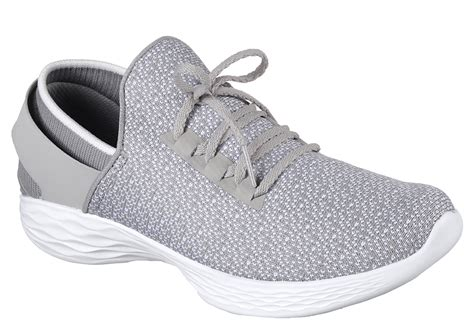 Skechers By You womens you by skechers slip on grey