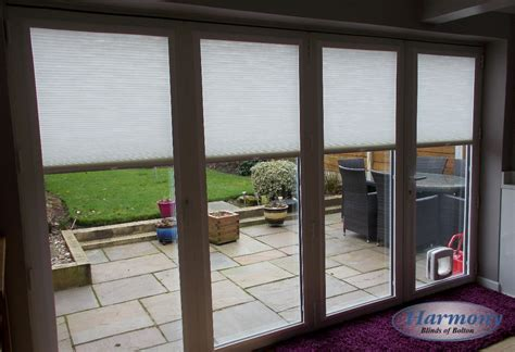 Fitting Patio Doors Fit Pleated Blinds On A Patio Door Harmony Blinds Of Bolton Chorley