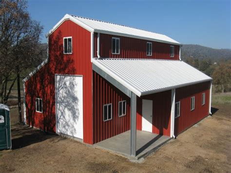 steel storage building kits metal barn home building kits