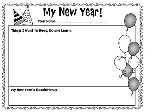 new year activities tes squirrel s new year s resolution activity sheets print
