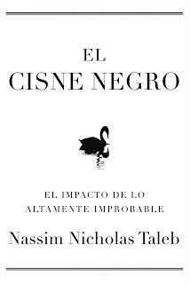 mono con libro: EL CISNE NEGRO, Nassim Nicholas Taleb