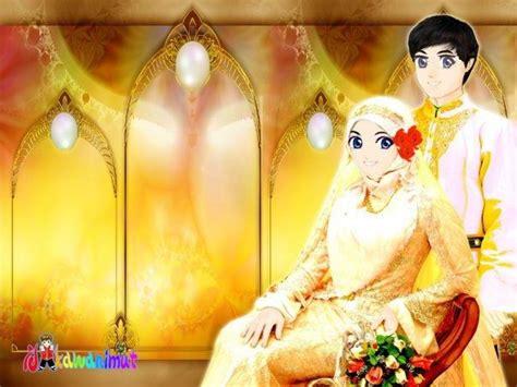 Animasi Pernikahan Islami by Kartun Nikah