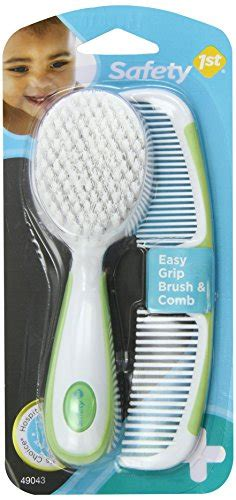 Iq Baby Comb And Brush safety 1st easy grip brush and comb colors may vary