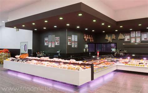 butcher shop design layout de kleine bassin butcher s shop by frigomil kortrijk