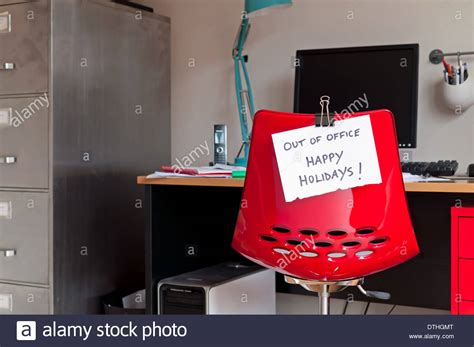 out of office happy holidays stock photo royalty free