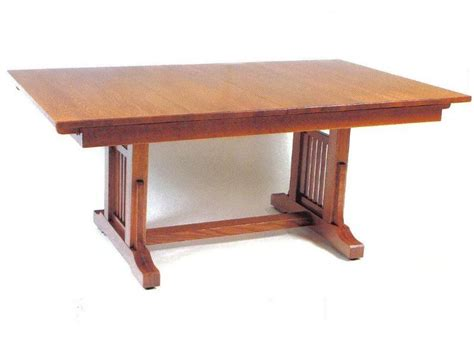 Mission Style Dining Table Plans Mission Style Trestle Dining Table Plans Sad46fbb