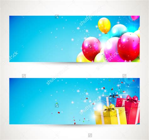 banner design resolution 23 happy birthday banners free psd vector ai eps