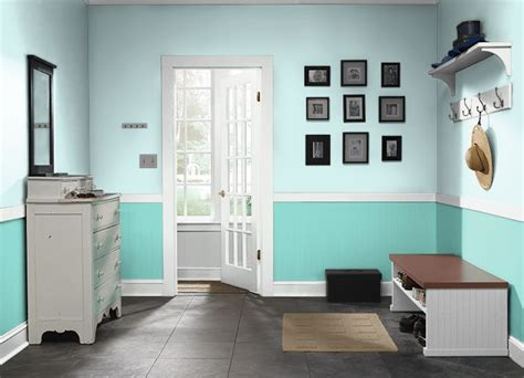 behr blue green ionic sky island oasis lower preschool islands and green