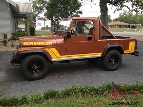 1981 Jeep Scrambler 1981 Jeep Scrambler Cj8 Classic Scrambler In Great