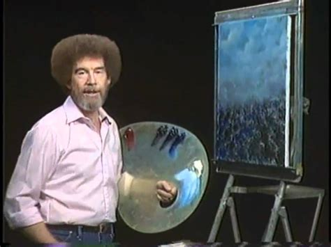 bob ross guest painter bob ross the of painting one day