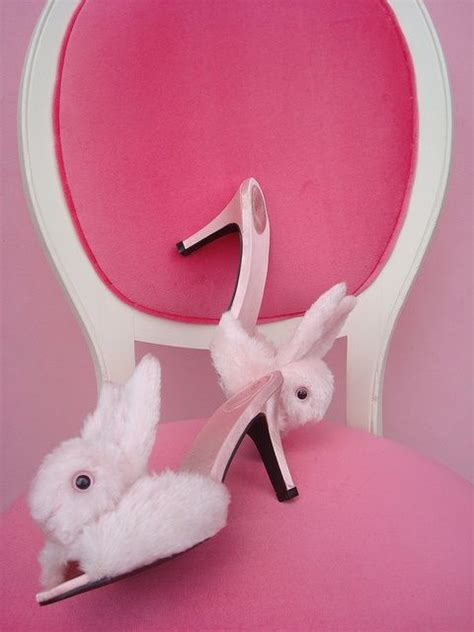 high heel bunny slippers bunny slippers sweet slippers