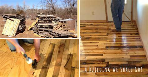 how to make pallet wood flooring diy crafts handimania