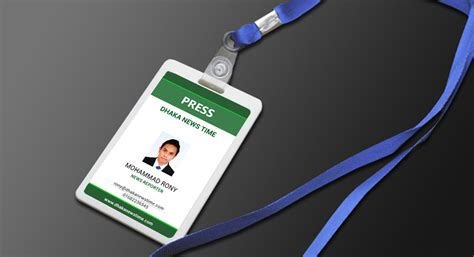 id card design for mac corporate id card holder mockup psd free on behance