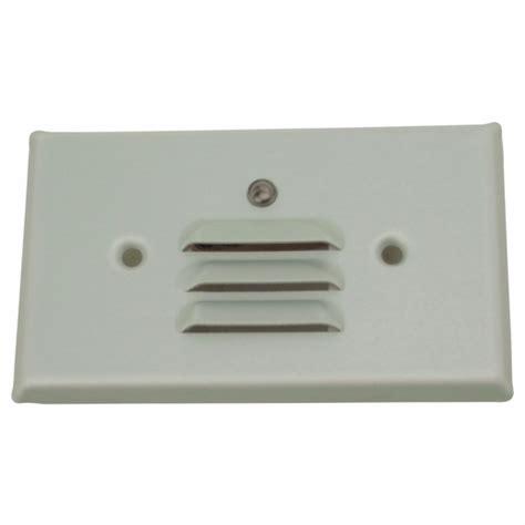 led mini step lights with louvers 1 watt led louvered mini step lights with photocell