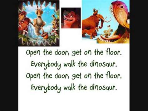 Walk The Dinosaur Meme - get on the floor everybody do dinosaur thefloors co