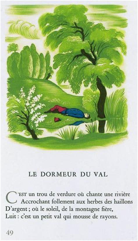Illustration De La Poesie Le Dormeur Du Val by Encyclop 233 Die Larousse En Ligne Arthur Rimbaud