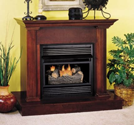 dual fireplace insert fireplaceinsert comfort vent free gas fireplace