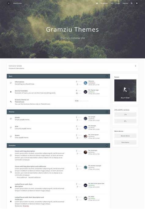 wordpress themes free forum 10 best responsive phpbb themes for forum community