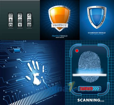 apple home network design 2014 fingerprint scanning free vector graphic free