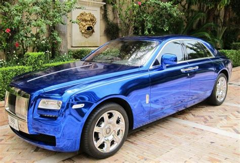 306 Rr Silver Ghost Blue Chrome Rolls Royce Rolls And Cars
