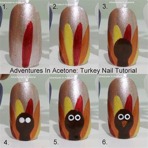 Thanksgiving Easy Nail