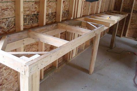 diy workbench plans  put  bracing   front