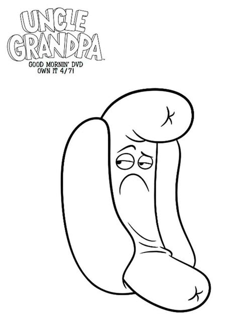 coloring pages for uncle uncle grandpa coloring pages free printable uncle grandpa