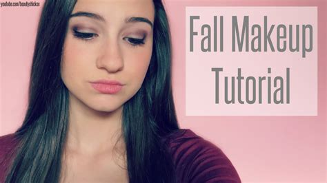 eyeliner tutorial youtube channel fall makeup tutorial youtube