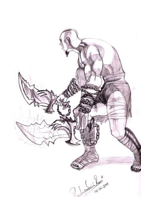 imagenes de kratos para dibujar faciles kratos dibujo a lapiz by rorro225 on deviantart