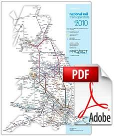railway map rail map