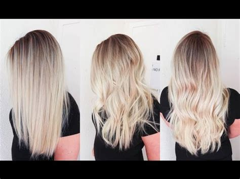 roots light ends technique sunkissed hair smudge roots and sombre balayage