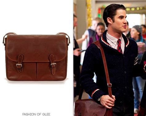blaine has carried this stunning leather messenger bag all