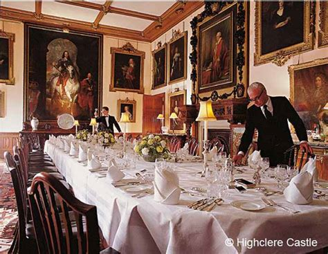 downton abbey dining room tour highclere castle home of downton abbey