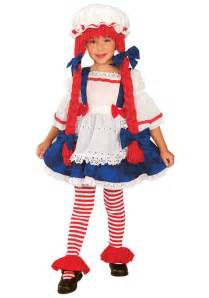 toddler girls halloween costumes toddler rag doll costume