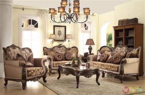 antique living room sets antique style wing back sofa seat provincial