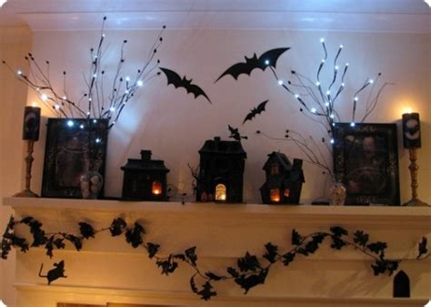 50 great halloween mantel decorating ideas digsdigs 70 great halloween mantel decorating ideas digsdigs