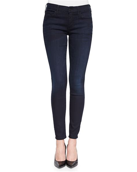 True Religion Halle Dark Wash Skinny Jeans Painful Love | true religion halle dark wash skinny jeans in black lyst