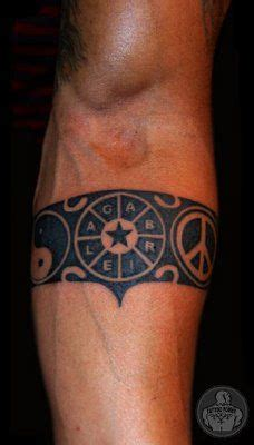 maori armband tattoos for men power polynesian arm band tattoos other